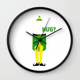buddy elf christmas Wall Clock