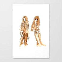Leah + Hayley Canvas Print