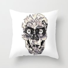 Home Taping Is Dead Throw Pillow