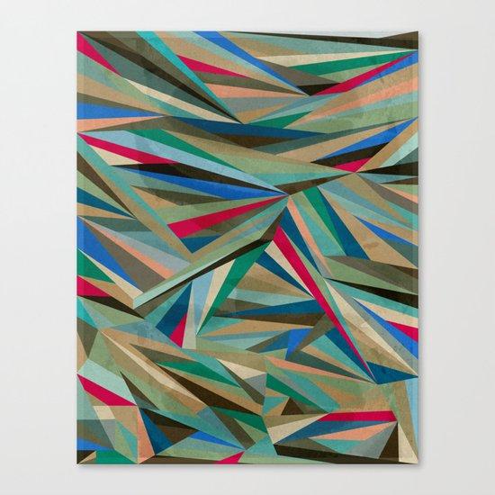 Travel Fragments Canvas Print