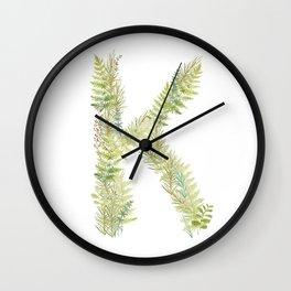 Initial K Wall Clock