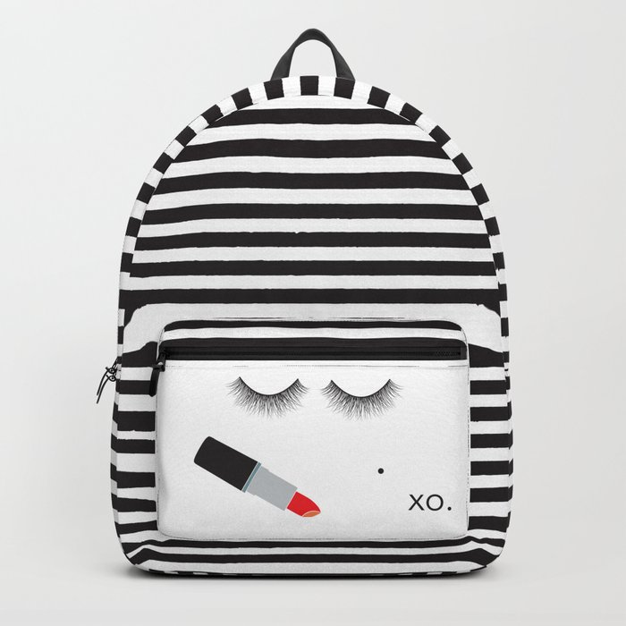 Lipstick & Lashes Backpack