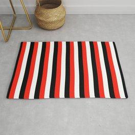 durham maori flag sardinia stripes Rug