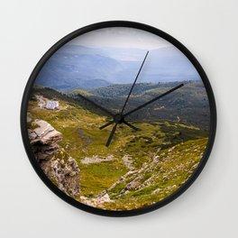 Astonishing landscape Wall Clock