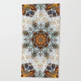 Sagrada Familia - Mandala Arch 1 Beach Towel