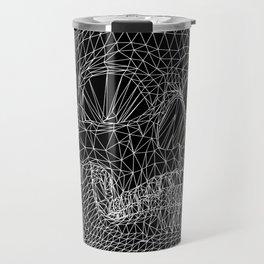Vector Skull Travel Mug