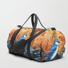 Blue Jay Life Duffle Bag