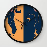 cyclops Wall Clocks featuring Cyclops by Young Jake