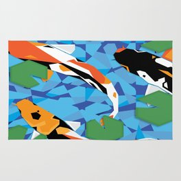 Swimmy Little Fish Rug