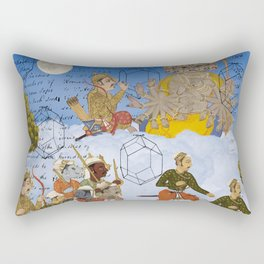 THE ANCIENTS IN THE SKY II Rectangular Pillow