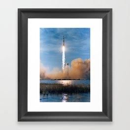 Apollo 8 - Saturn V Liftoff! Framed Art Print