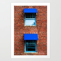 kansas city Art Prints featuring Kansas City by Lovejoy Photography