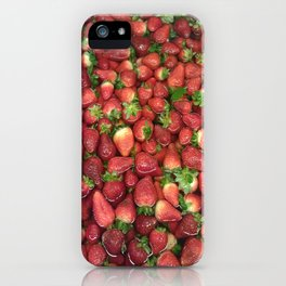 Strawberry Song iPhone Case