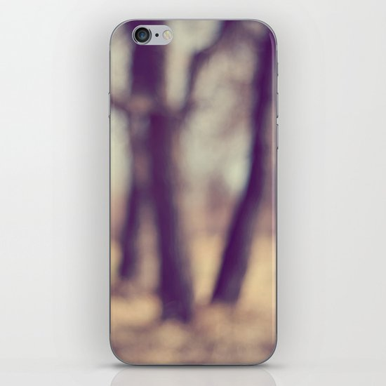 The Haunted Forest iPhone & iPod Skin