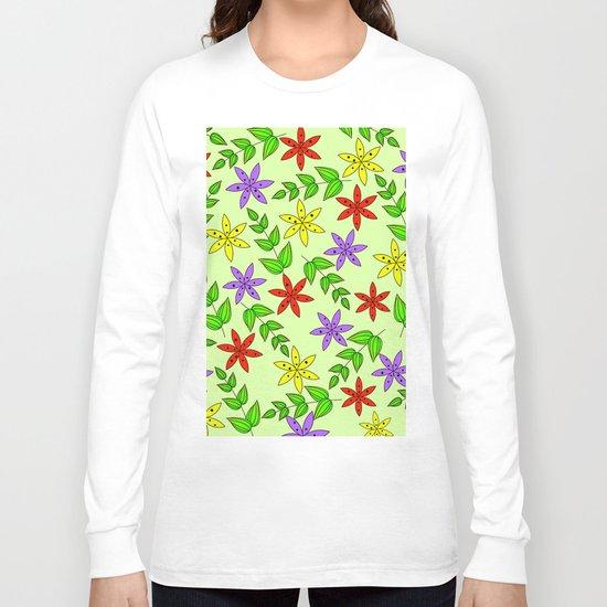 Pattern Q Long Sleeve T-shirt