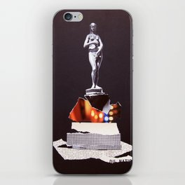 Pedestal iPhone Skin