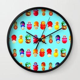 Dollies Wall Clock