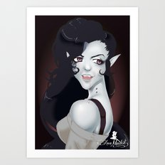 Vampire Queen Marceline Art Print