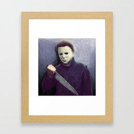 Michael Framed Art Print