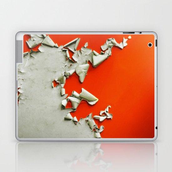 Orange Paper Peel Laptop & iPad Skin