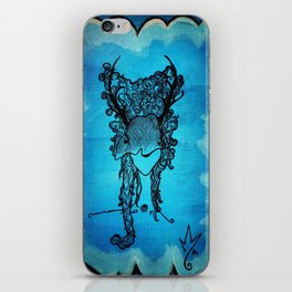 Woman of the Forest iPhone Skin