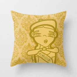 SUZY Throw Pillow