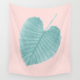 Love Leaves Evergreen Blush - Her #1 #decor #art #society6 Wall Tapestry