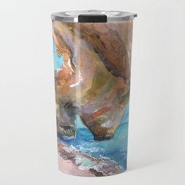 Benagil Cave, Portugal Travel Mug