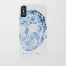 Crystallized Morality - Gus Fring iPhone Case