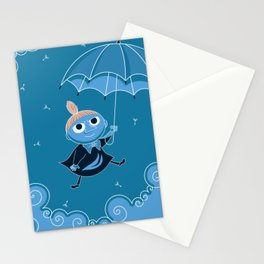 Little my, the moomins Stationery Cards