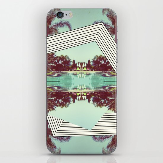 Tropics Trip iPhone & iPod Skin