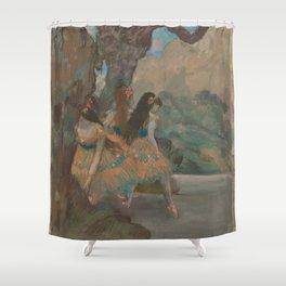 Edgar Degas - Ballet Dancers Shower Curtain