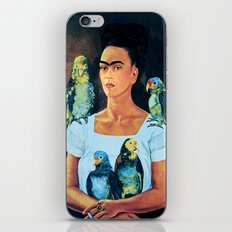 FRIDA KAHLO 2 iPhone & iPod Skin