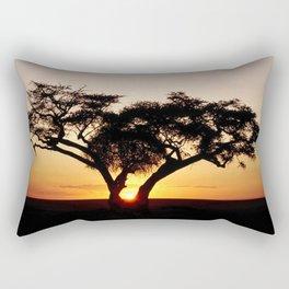 Sunset glow  Rectangular Pillow