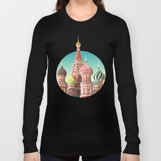 Saint Basil's Cathedral Long Sleeve T-shirt