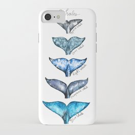 Whale tails iPhone Case