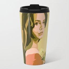Lana with Rose Travel Mug