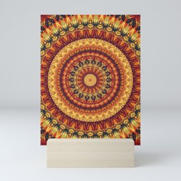 Mandala 322 Mini Art Print