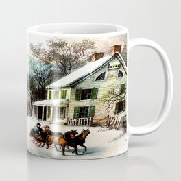 Winter In Old Virginia  Coffee Mug