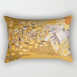 Gustav Klimt - The Woman in Gold Rectangular Pillow