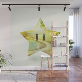 Super Star - Kart Art Wall Mural