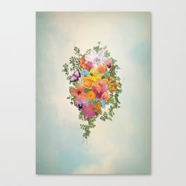 FLORAL // LIFE OF FLOWERS Canvas Print