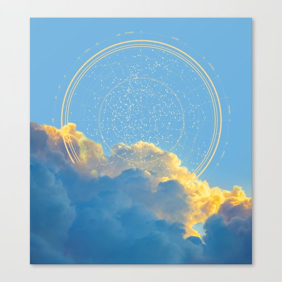 Create Your Own Constellation Canvas Print