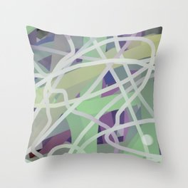 Color Appeal  Throw Pillow