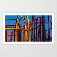 frames Art Prints featuring Frames by Lewis Fone