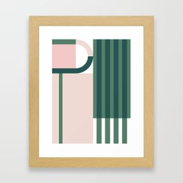 The Introduction Series #04 Framed Art Print