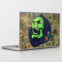 skeletor Laptop & iPad Skins featuring Skeletor by Beery Method