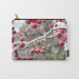 Crab Apples in the Early Winter Carry-All Pouch