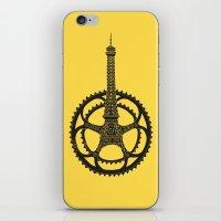 tour de france iPhone & iPod Skins featuring Le Tour de France by Foster Type