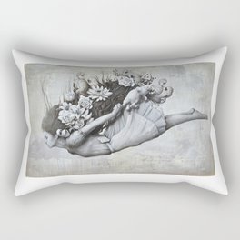 Le jardin d'Alice Rectangular Pillow